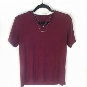 Urban Outfitters BDG Red Marbled T-shirt